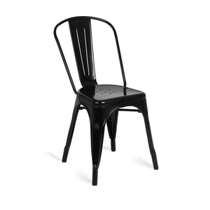 Furniture hire and equipment rentals - Tolix Chair Black (832178618404)