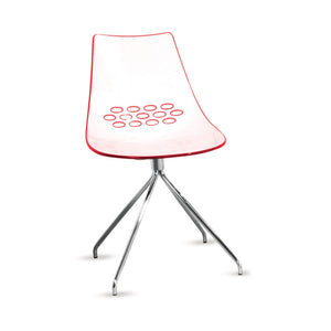Furniture hire and equipment rentals - Tajo Chair Red (832191856676)