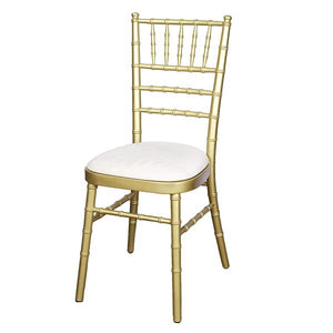 Gold chiavari chair hire Ireland