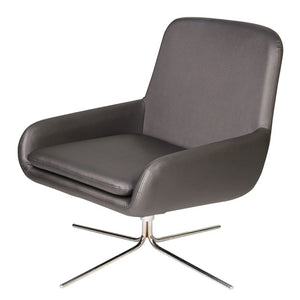 Leather swivel armchair for hire for events UK