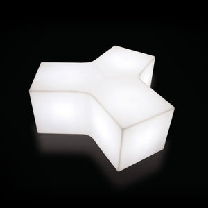 Furniture hire and equipment rentals - Flame Stool Bench Illuminated (839365984292)