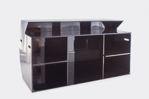 Furniture hire and equipment rentals - Black Bar Rounded