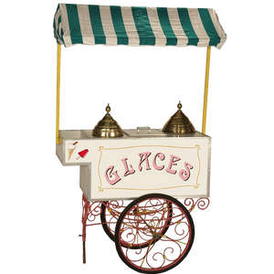 ice-cream trolley hire traditional style glaces
