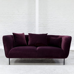 Furniture hire and equipment rentals - Mayfair Sofa Aubergine (1200460234788)