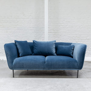 Furniture hire and equipment rentals - Mayfair Sofa Blue (1200460169252)
