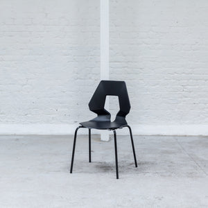 Furniture hire and equipment rentals - Geo Chair Black