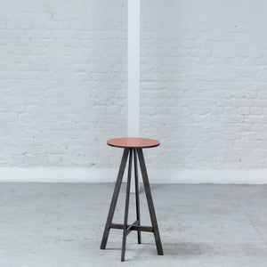 Furniture hire and equipment rentals - Disco Stool Orange