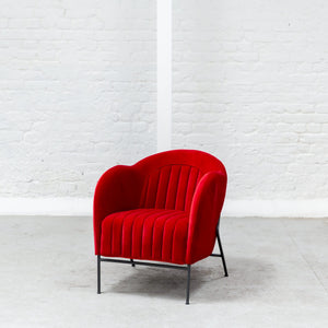 Furniture hire and equipment rentals - Sophia Armchair Red (1200460070948)