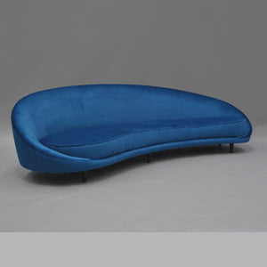 Furniture hire and equipment rentals - Ocean Sofa Blue (549489868836)