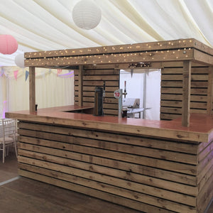 Pallet bar hire for parties and weddings in Ireland