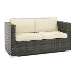 Furniture hire and equipment rentals - Rattan 2 Seater Sofa