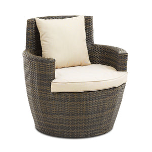 Furniture hire and equipment rentals - Rattan Tub Chair (839430668324)