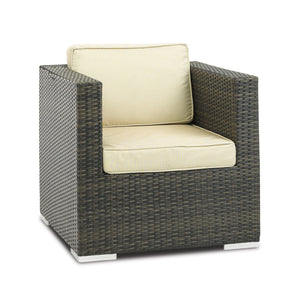 Furniture hire and equipment rentals - Rattan Single Chair (839412711460)