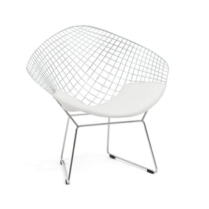 Furniture hire and equipment rentals - Bertoai Diamond Chair White (835439067172)