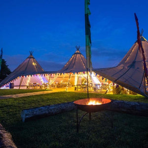 Tipi hire UK London and South East Event Tent Lighting & Decor