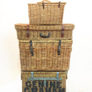 Wicker basket picnic hamper prop decoration for hire