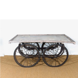 For Hire Vintage Indian cart reclaimed wood bicycle wheels UK South East