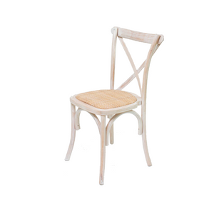 Furniture hire and equipment rentals - Cross Back Chair (1229566279716)