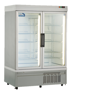 Double Glass Front Door Display Fridge