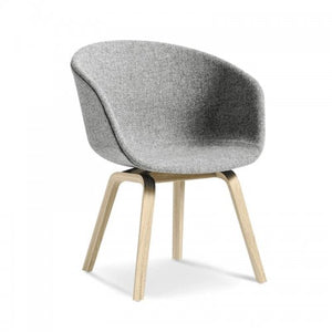 Grey hire chair contemporary Hay style Portugal