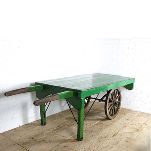 Traditional cart for hire in green UK