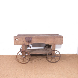 Vintage industrial cart for hire UK South West