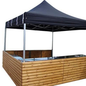 3m gazebo market stall hire UK