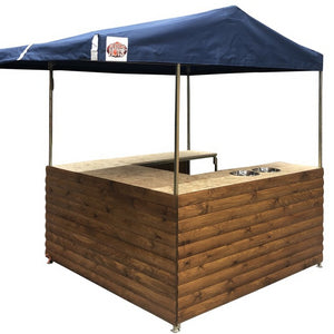 Market stall cart hire UK with canopy (1456278503460)