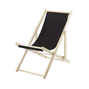 Furniture hire and equipment rentals - Black Deck Chair