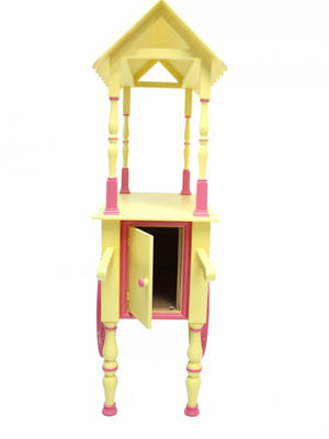 Event hire sweet cart candy yellow pink UK