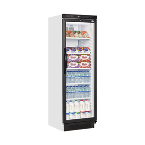 Furniture hire and equipment rentals - Tall Glass Front Fridge Single Door