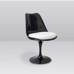 Tulip Chair Black - Available in other colours (1411026845732)