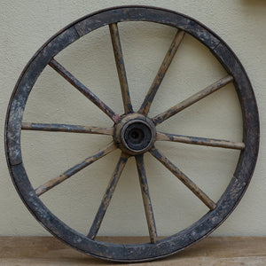 Furniture hire and equipment rentals - Vintage French Cart Wheel