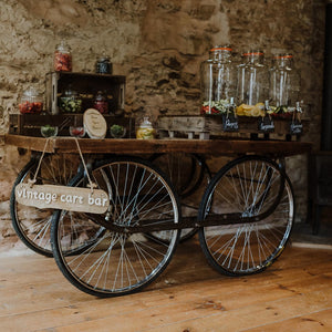 Furniture hire and equipment rentals - Vintage Indian Cart (1226994516004)