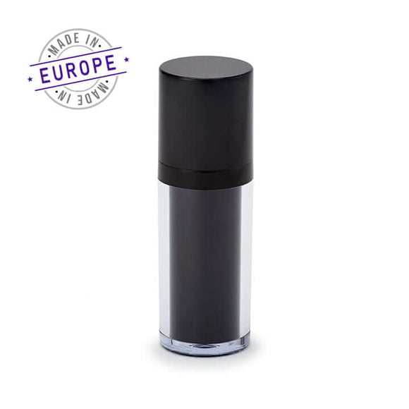 30ml black regula airless bottle