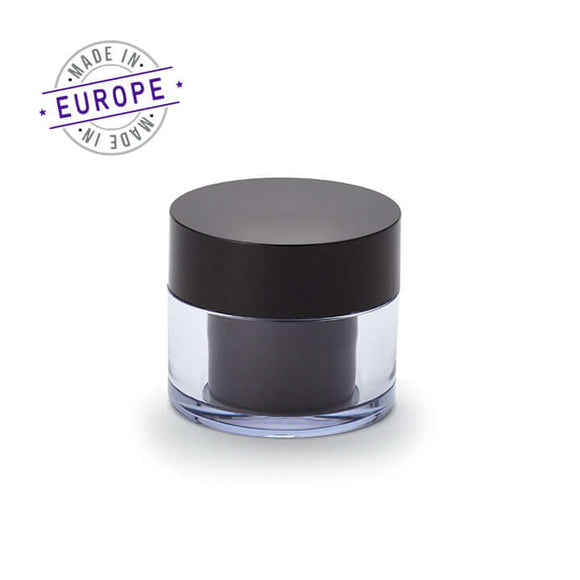 30ml black regula jar