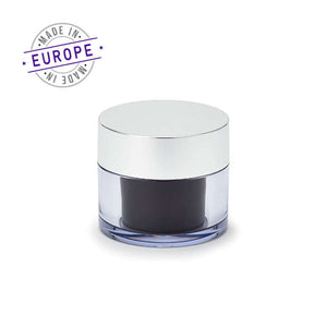 <strong>30ml</strong> Regula Jar – Black/Silver