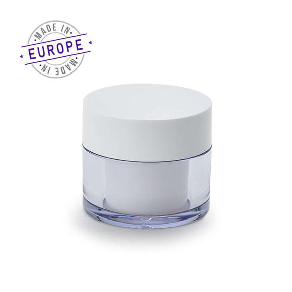 white 30ml regula jar