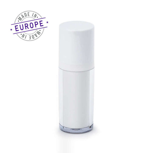 30ml white regula airless bottle