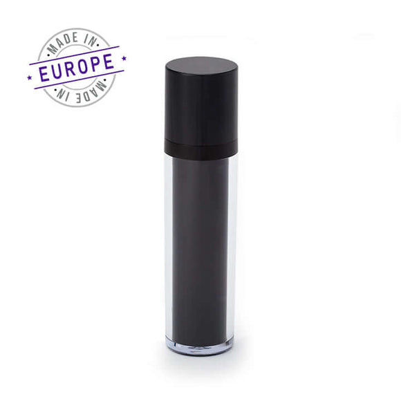 50ml regula airless bottle in black