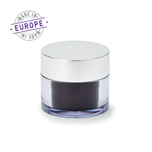 <strong>50ml</strong> Regula Jar – Black/Silver