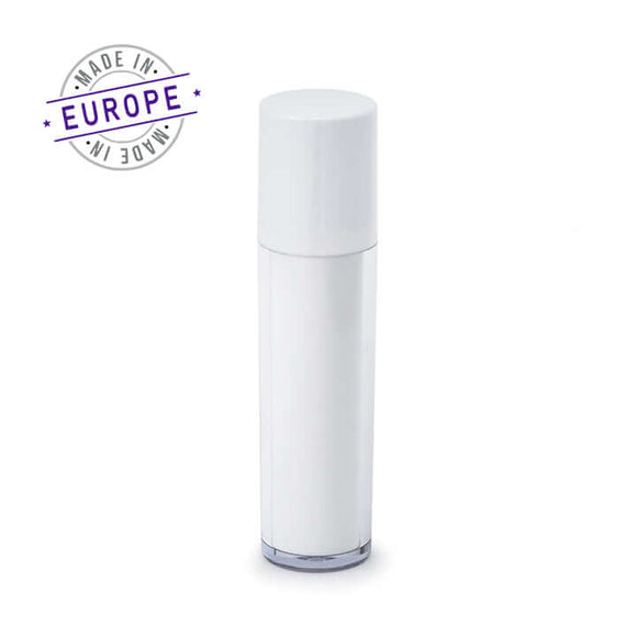 regula airless bottle in white