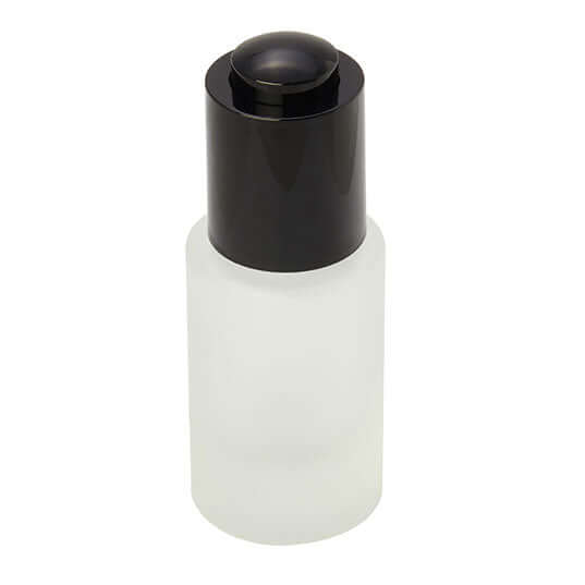 15ml frosted glass bottle with dropper