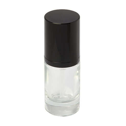 15ml clear glass bottle with pump