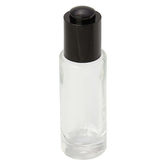 <strong>30ml</strong> Clear Glass Bottle with Dropper