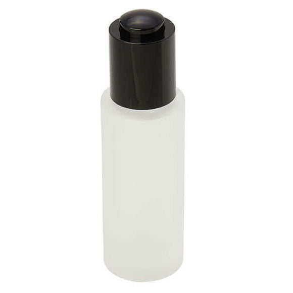 30ml frosted glass bottle with dropper