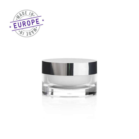 50ml arno jar with silver cap