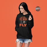 Good Girls Sit Bad Bitc**s Fly Hockey Pullover Hoodie | BleedGreenMafia.com
