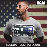 Philly Special, Boston Creamed T-Shirt | BleedGreenmafia.com - BleedGreenMafia