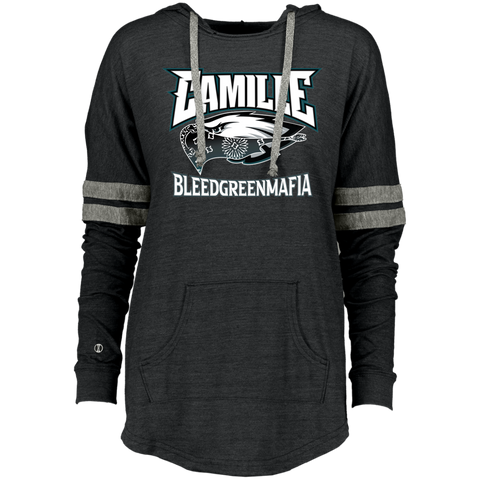 CAMILLE Ladies Hooded Low Key Pullover